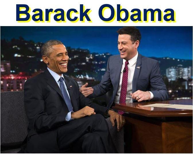 Barack Obama on Jimmy Kimmel Live