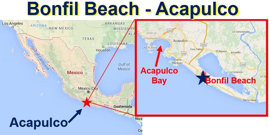 Bonfil Beach Acapulco