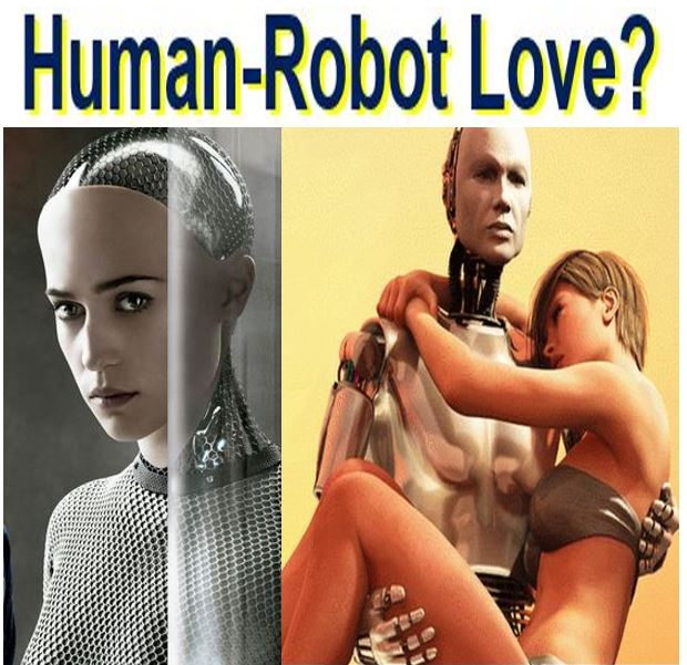 Human to robot love