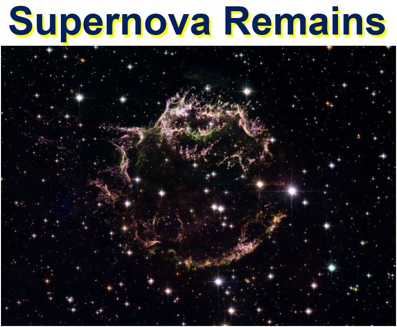 Supernova Remains