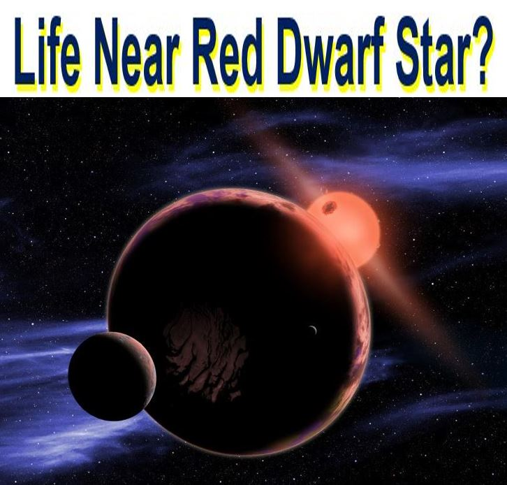 There might be alien life near red dwarf star