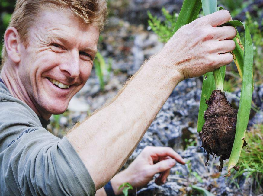 Tim Peake in space gardening experiment