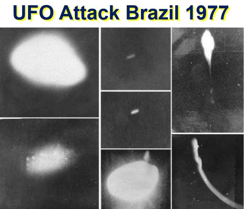 UFO attack Brazil 1977