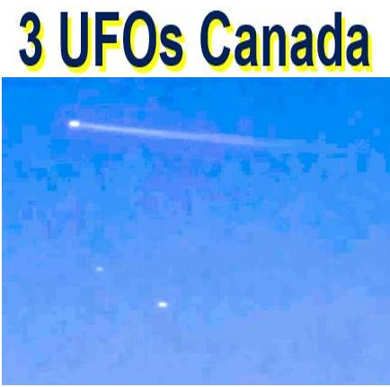 UFO sighting in Canada