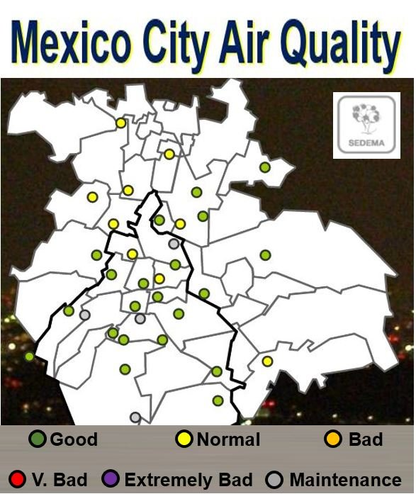 Mexico City Air Quality