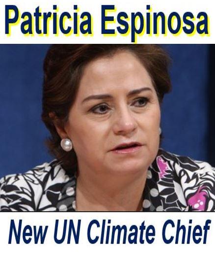 Patricia Espinosa UN climate chief