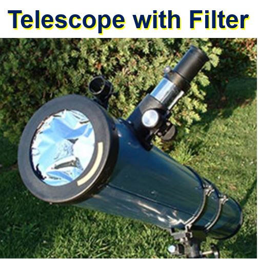 Telescope with Filter