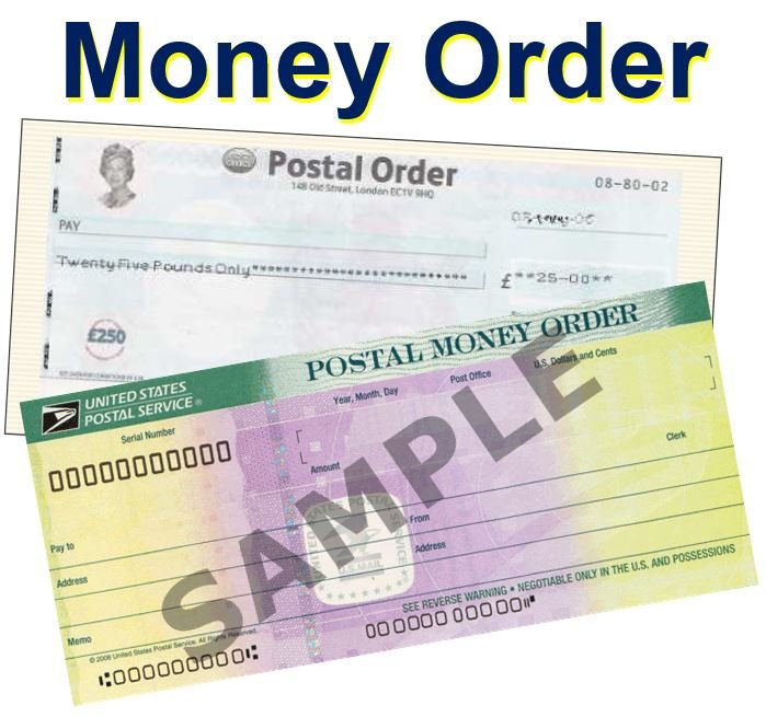 Buy Definition: What Is A Money Order? Definition And Examples