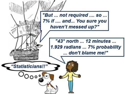 Statisticians talking