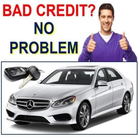 Car Loan bad credit no problem