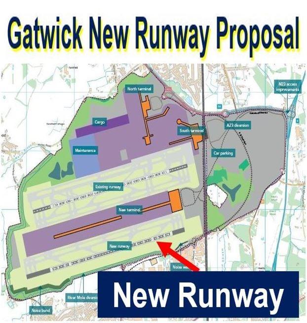 Gatwick new runway proposal