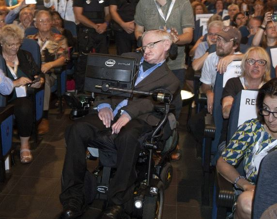 Prof Hawking lecture Tenerice