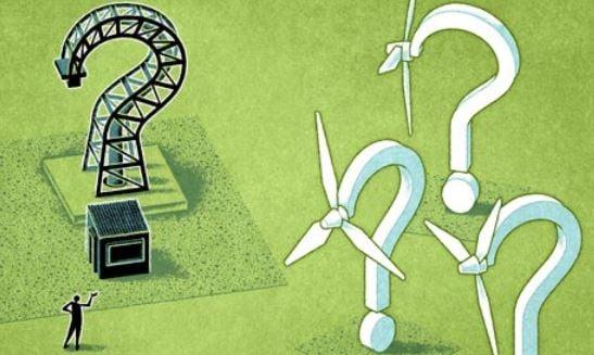 Fracking versus renewable energy