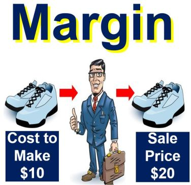 Image describing margin