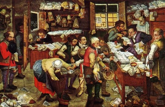 Pieter Brueghel the Younger tax office