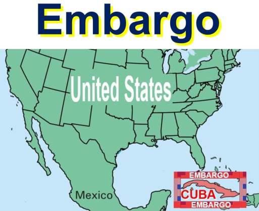 USA Cuba embargo