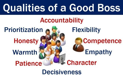 Boss - qualities a good one should have