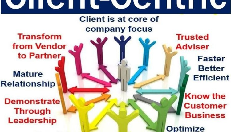 Client-centric - features image