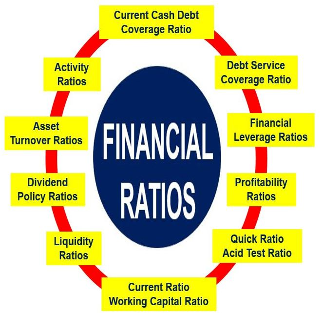 accounting ratios definition and meaning