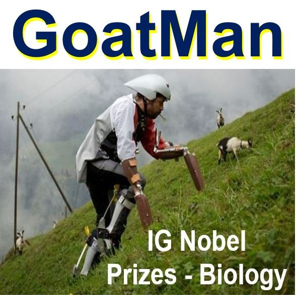 GoatMan IG Nobel Prizes