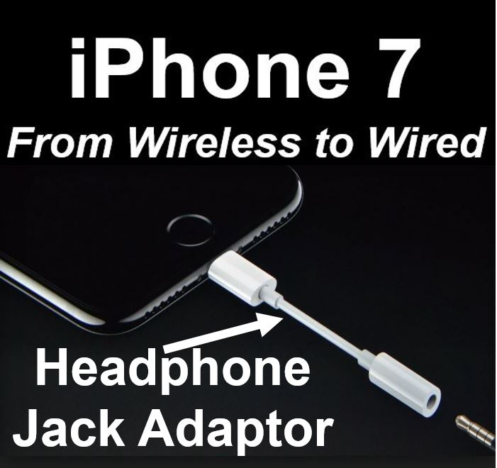 iPhone 7 wireless to wired