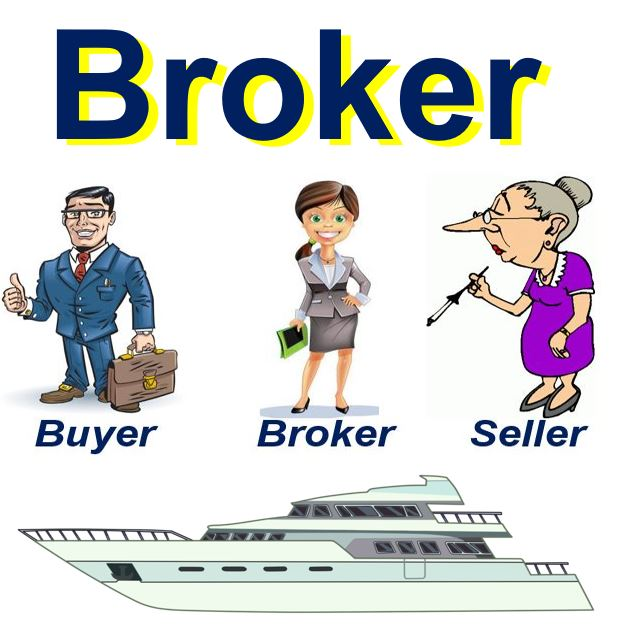 What Is A Broker Definition And Meaning Market Business