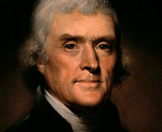 Thomas Jefferson quote using word 'trade'