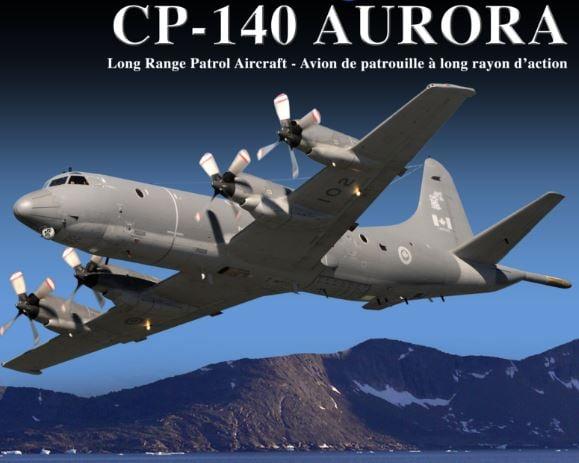 CP-140 Aurora investigating pinging sound