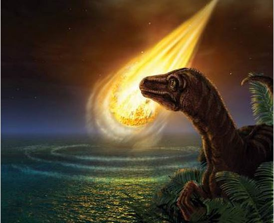 Killer asteroid destroyed the dinosaur