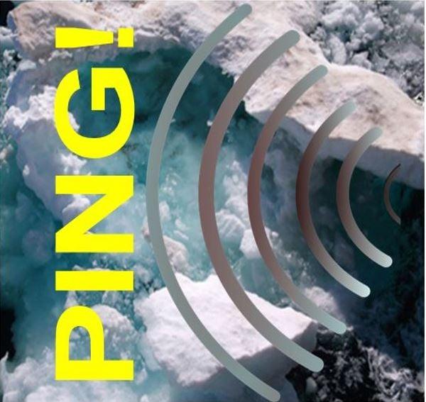Pinging sound in Arctic