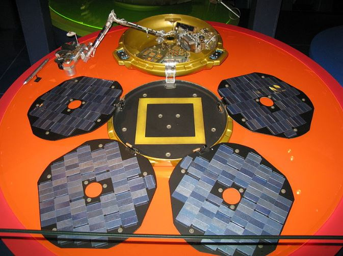 Replica of Beagle 2