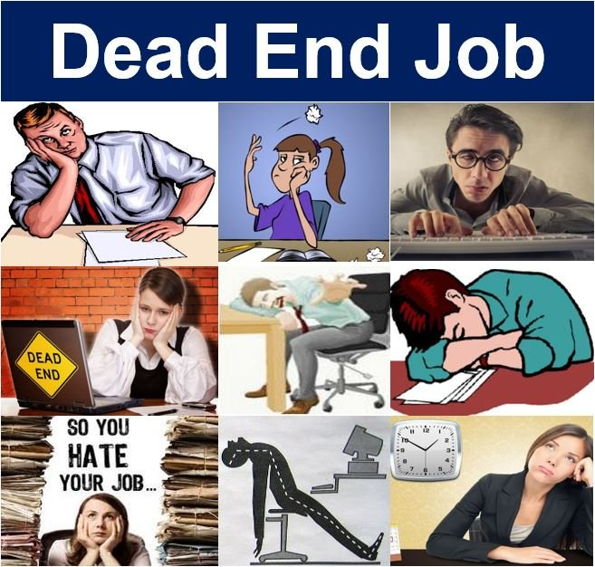Definition of a dead end job
