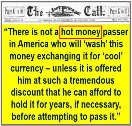 Hot money quote