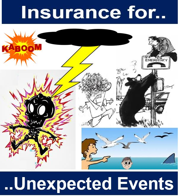 Insurance for unexpected events