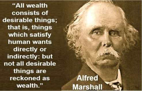 Alfred Marshall quote