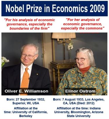 Nobel Prize in Economics 2009 image