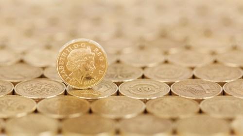 UK tax burden pound coins