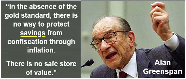 Alan Greenspan - Savings quote