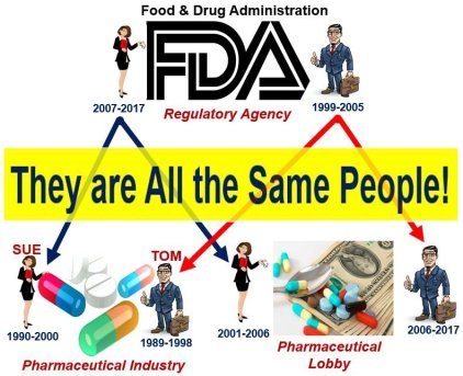 Regulatory capture - they are all the same people
