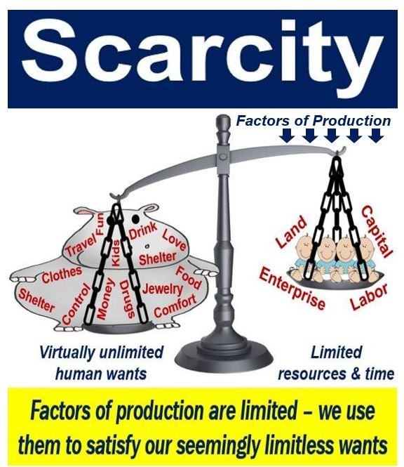 causes of scarcity