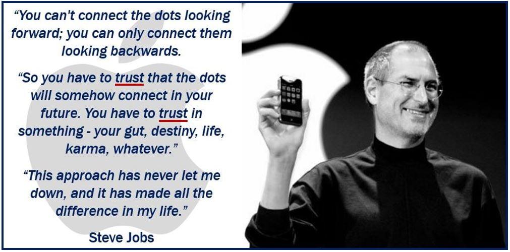 Steve Jobs - Trust Quote
