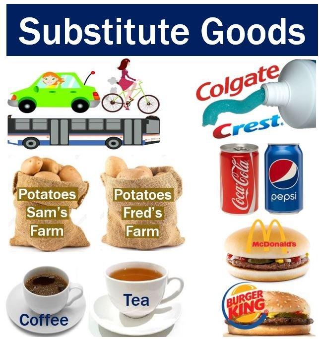 Substitution goods에 대한 이미지 검색결과
