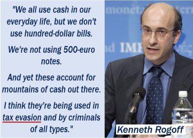 Tax Evasion Quote - Kenneth Rogoff