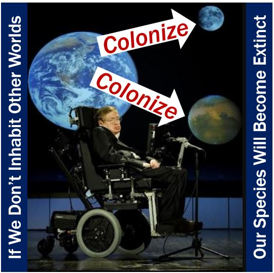 Hawking - Future of mankind