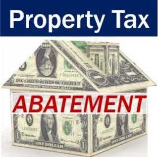 Property tax abatement