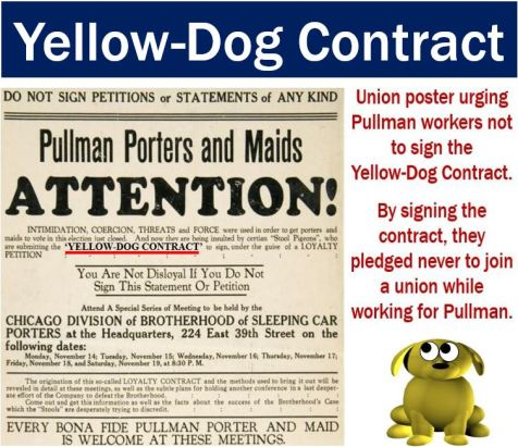 Yellow-Dog Contract poster