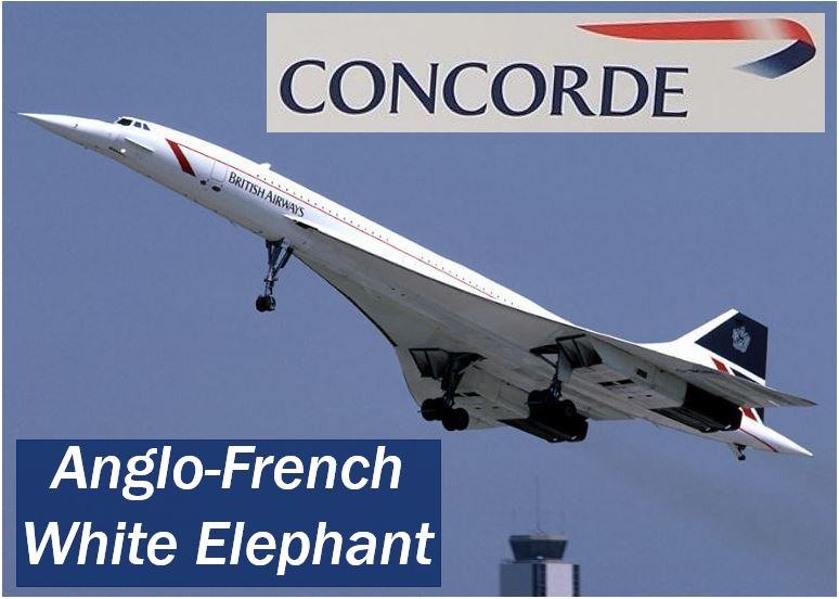 Concorde - Anglo-French White Elephant