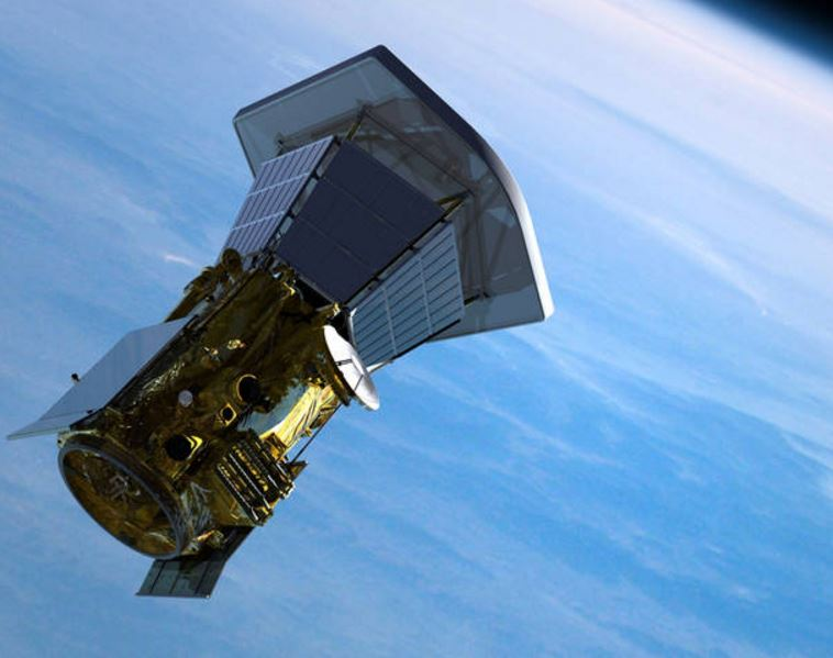 Solar Probe leaving Earth