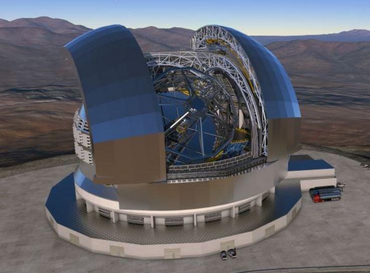 Super telescope - Extremely Large Telescope