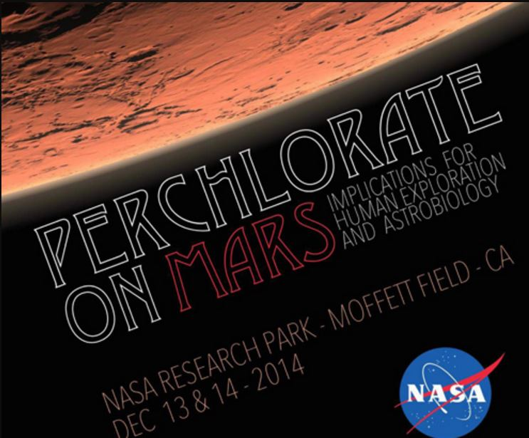Perchlorates on Martian Surface